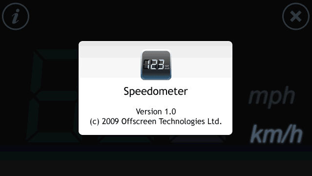 Speedometer Touch