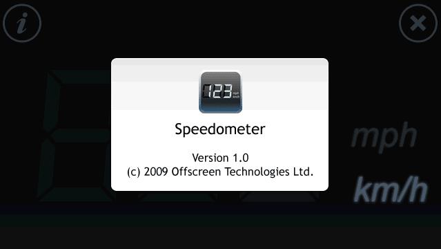 Speedometer Touch
