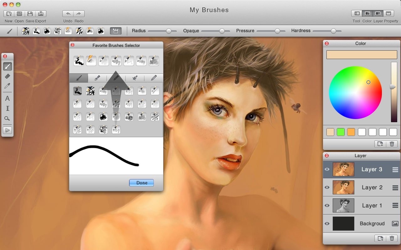 MyBrushes for Mac