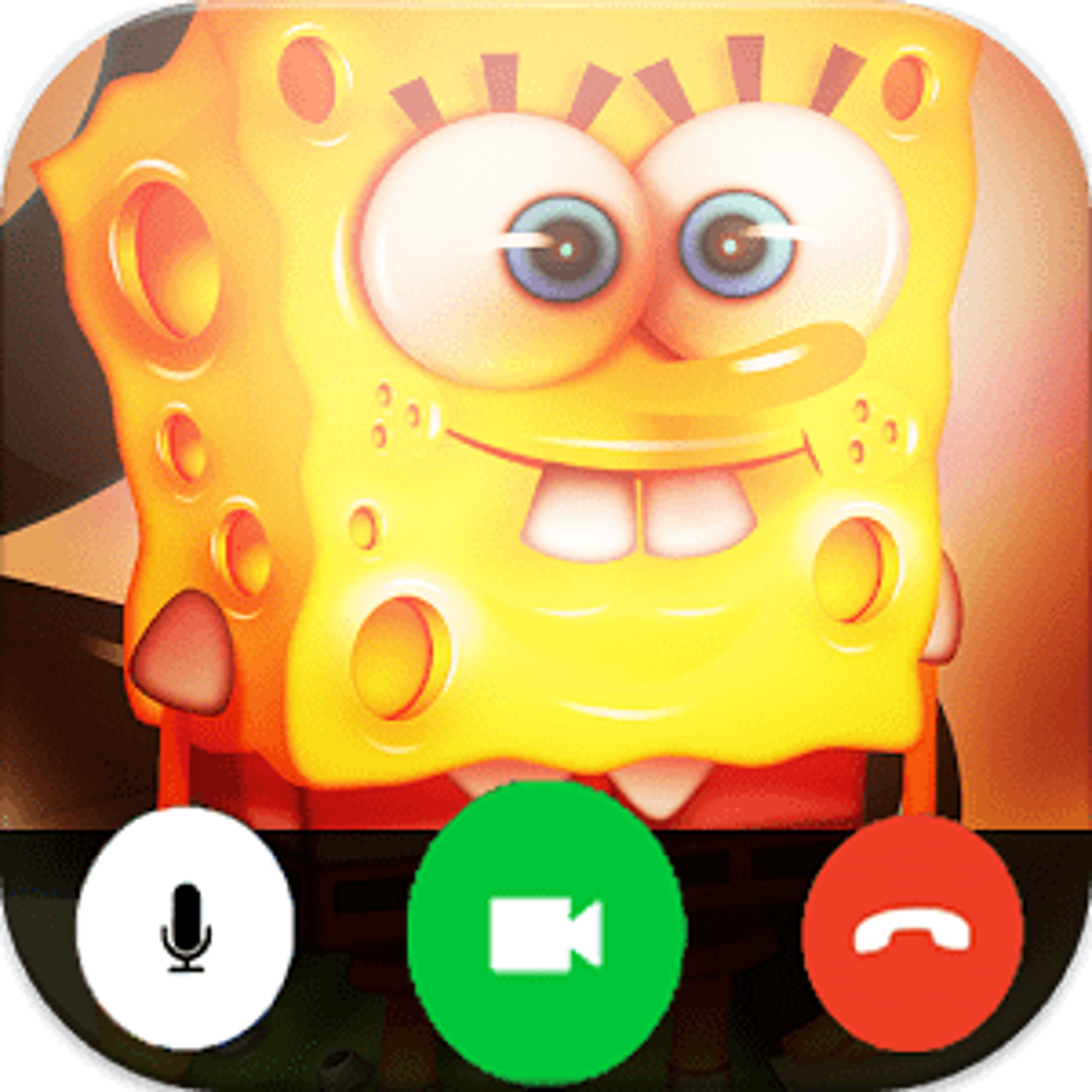 Video Call Simulator For Sponge-bob
