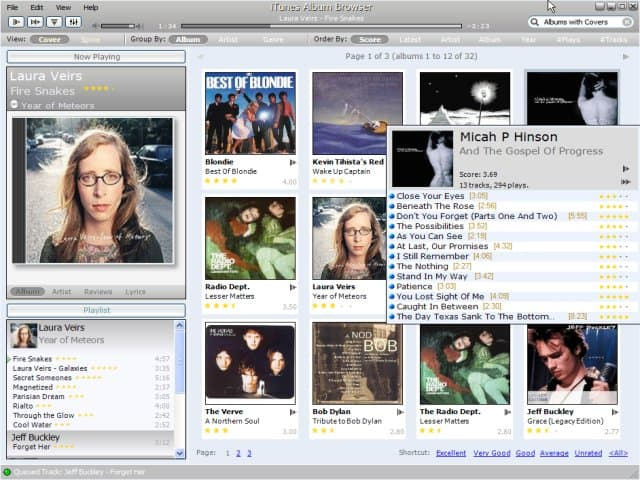 iTunes Album Browser