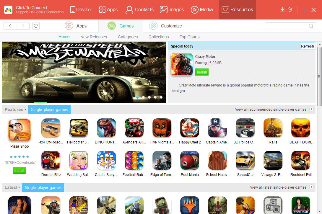 Android PC Sync Manager