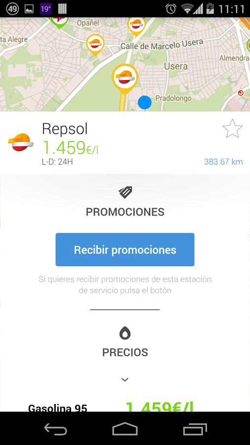 GasAll: Gasolineras España