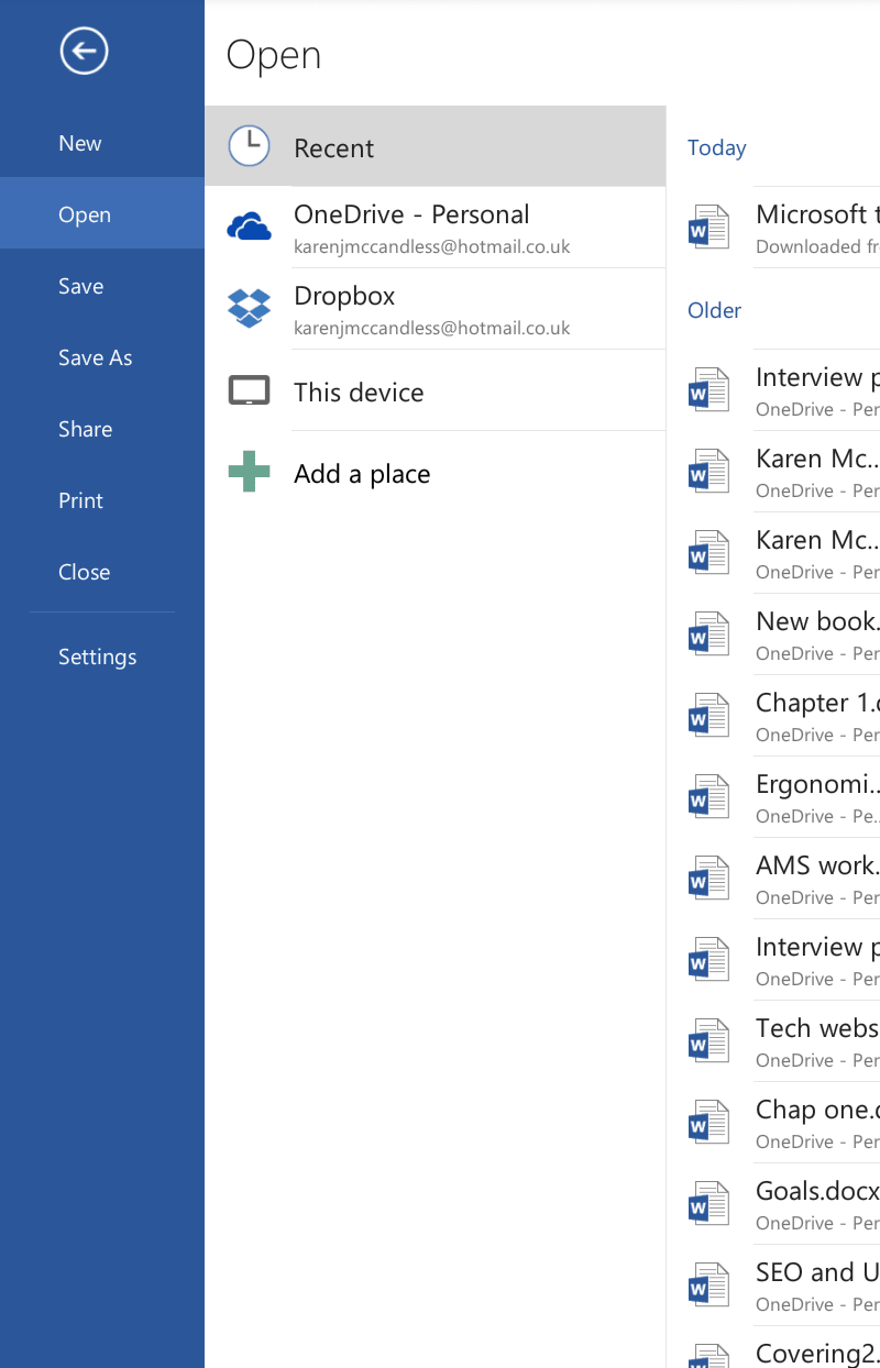microsoft word for android