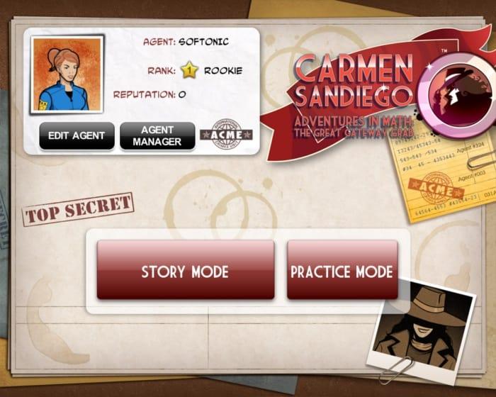 Carmen Sandiego Adventures in Math