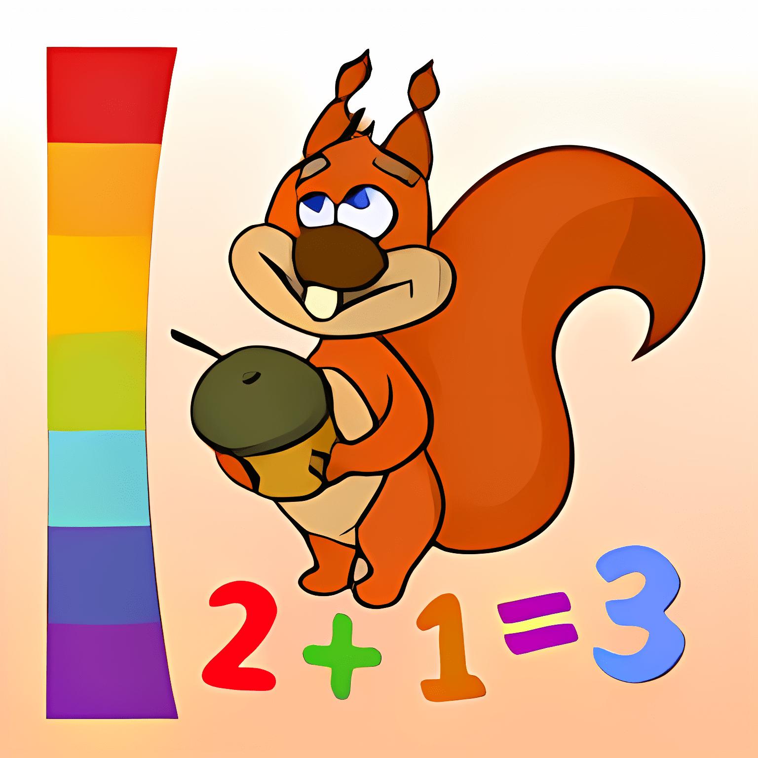 Colorear por números-Animales 1.3.1