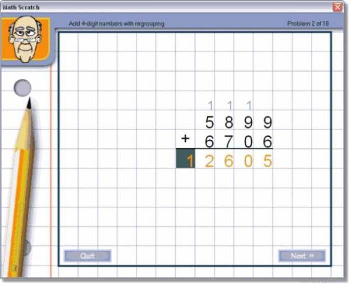 Math Scratch