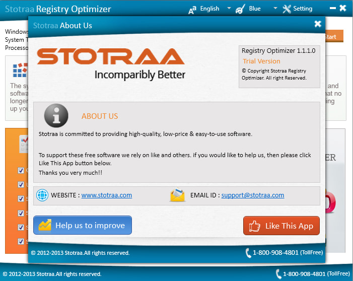 Stotraa Registry Optimizer 1.1.1.0