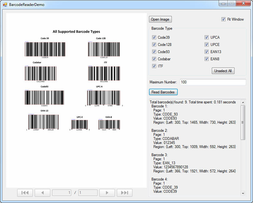 Dynamsoft Barcode Reader SDK