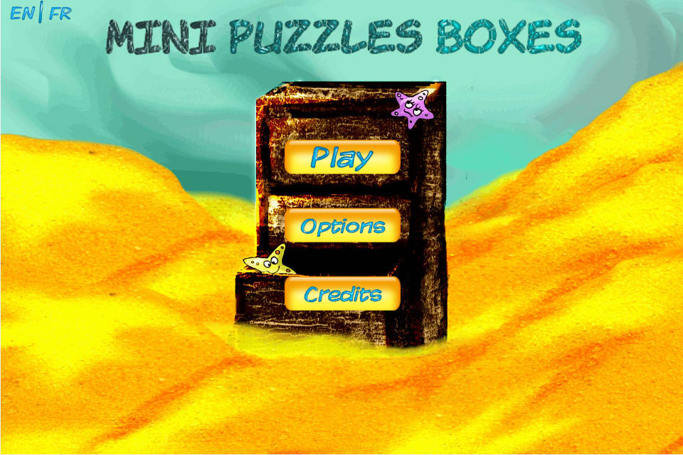 A mini puzzles boxes game