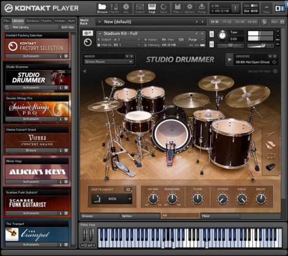 Kontakt Player - Free download and software reviews - CNET