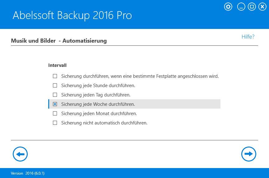 Abelssoft Backup