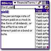 Financial Terms Dictionary Lexicon