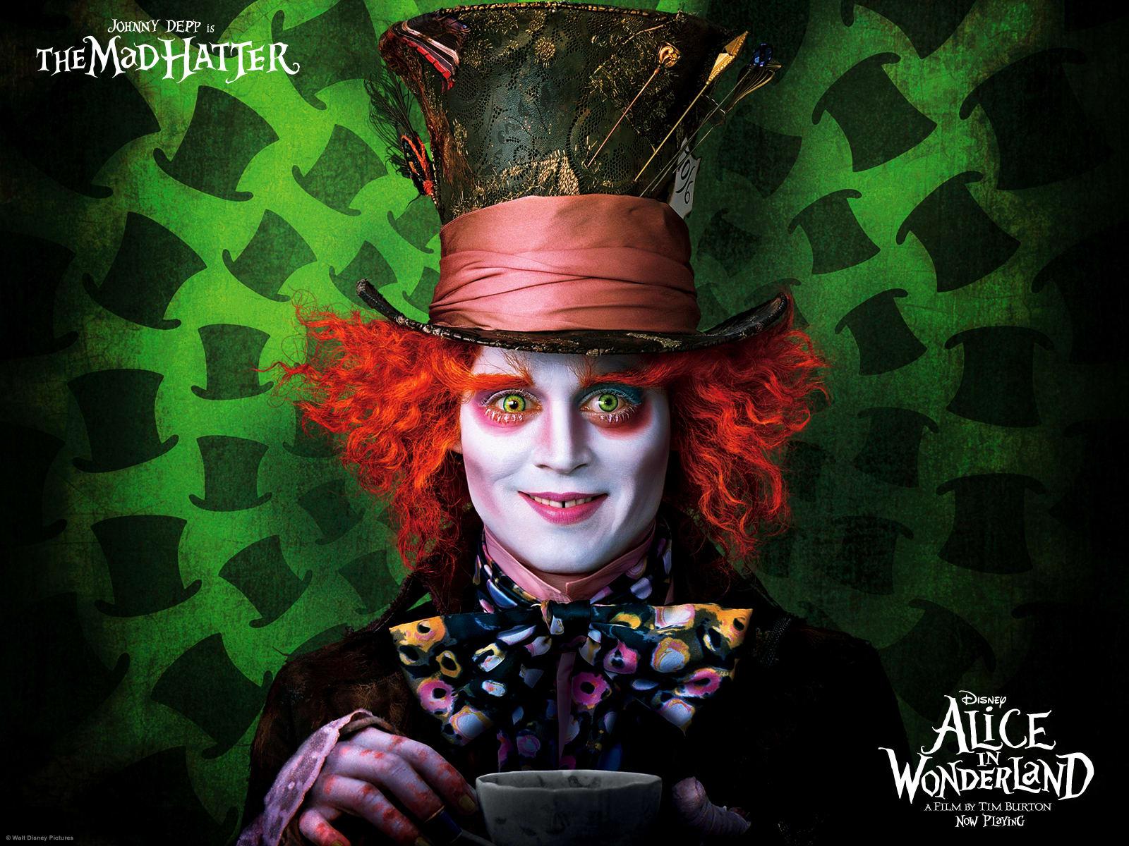 Alice au pays des merveilles - Wallpaper
