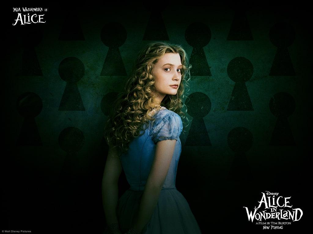 Fondos de Alicia en el País de las Maravillas
