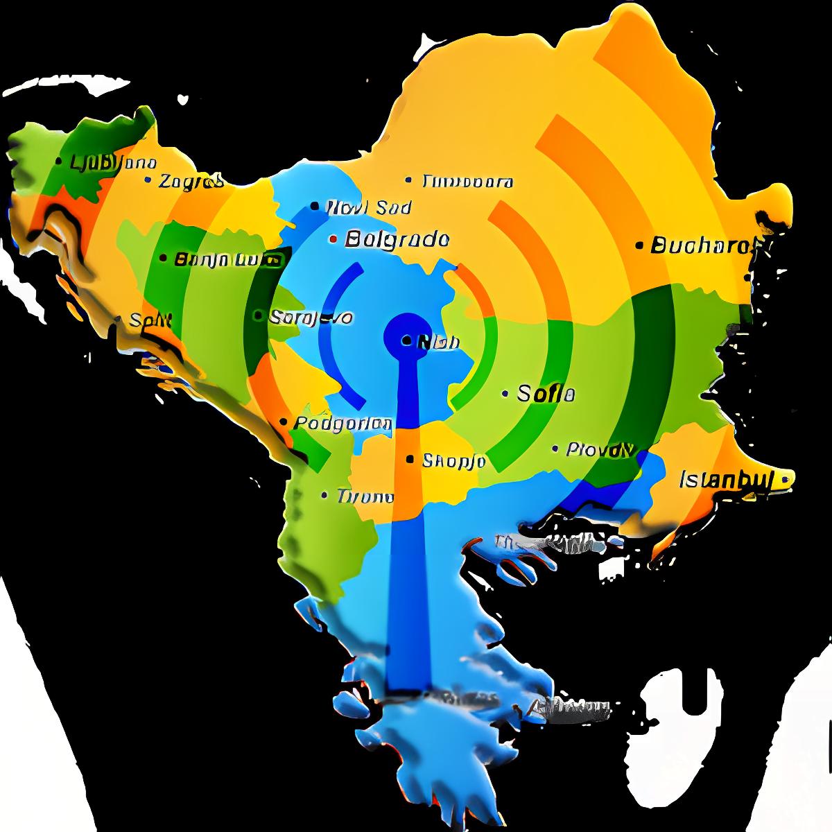 Balcanes Emisoras de Radio Voz 1.3