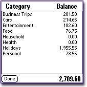 MoneyStalker Expense