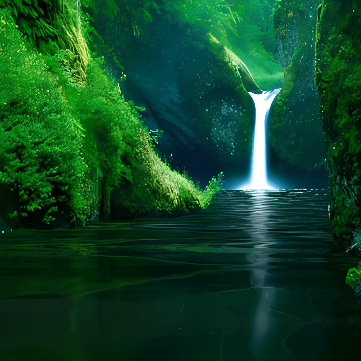 AMAZING WATERFALL LWP FREE 2.2 y versiones superiores