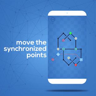 Dots Sync  Symmetric brain game
