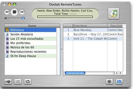 Ovolab RemoteTunes