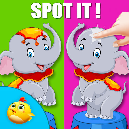 Circus Spot The Difference Fun