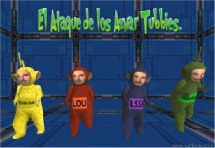 El Ataque de los AznarTubbies