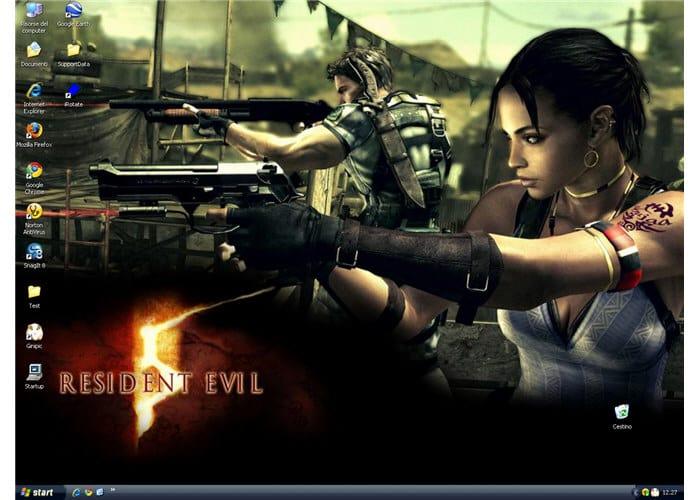 Tapeta Resident Evil 5