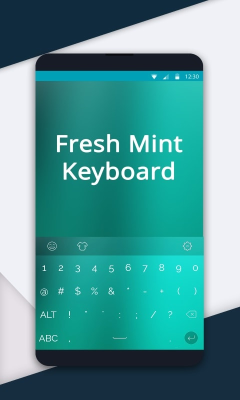 Fresh Mint Keyboard for Redraw