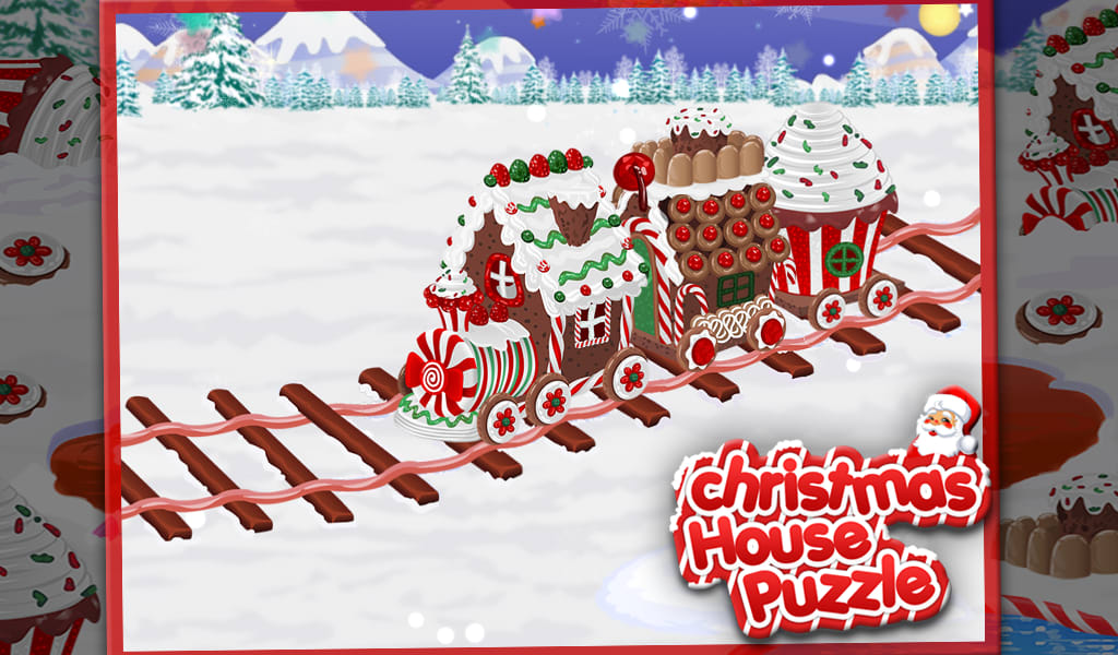 Christmas House Puzzle
