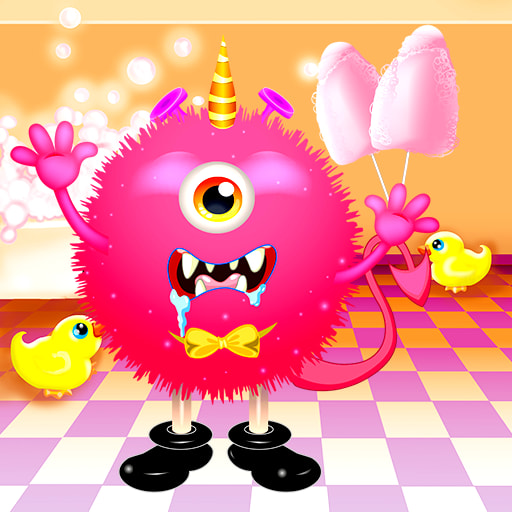 Dress Up Funny Monster