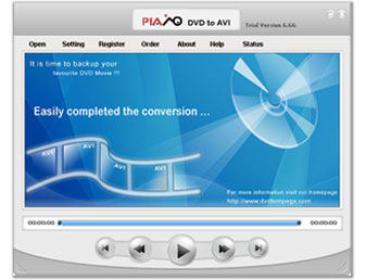 Plato DVD to AVI Converter
