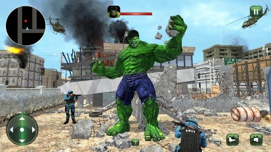 Incredible Monster Superhero Bulk City Battle