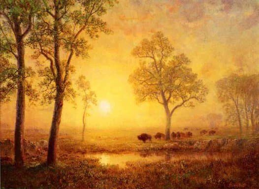 Albert Bierstadt Screensaver
