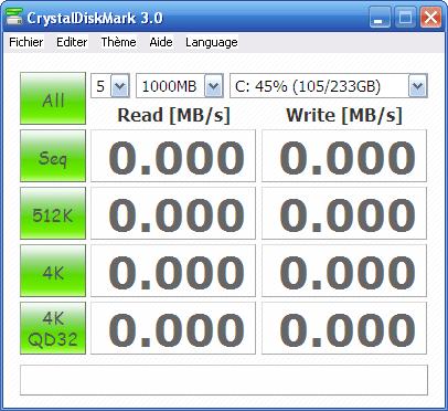 CrystalDiskMark Portable