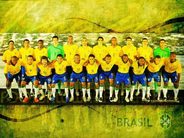 Brazil Team Wallpaper