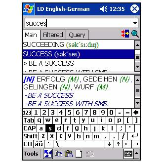 LingvoSoft Dictionary German-English-German