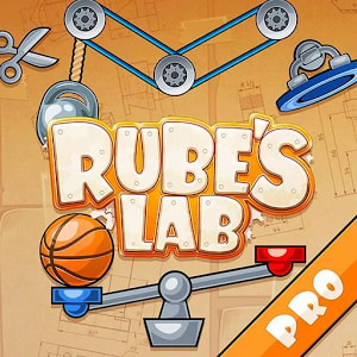 Rube's Lab PRO Physics Puzzle