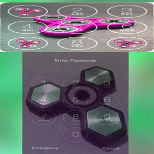 Fidget Spinners Lock Screen 17