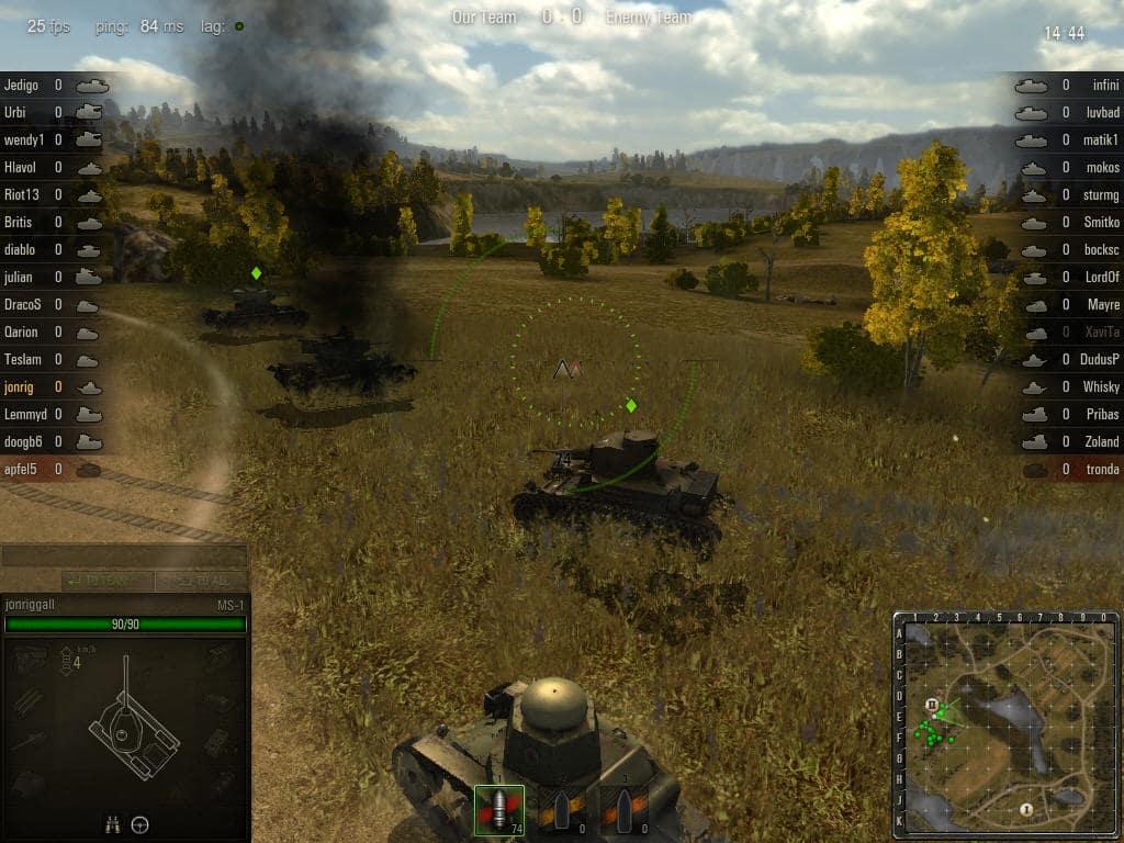 World of tanks онлайн скачать на компьютер