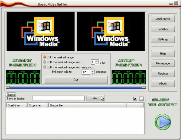 Speed Video Splitter