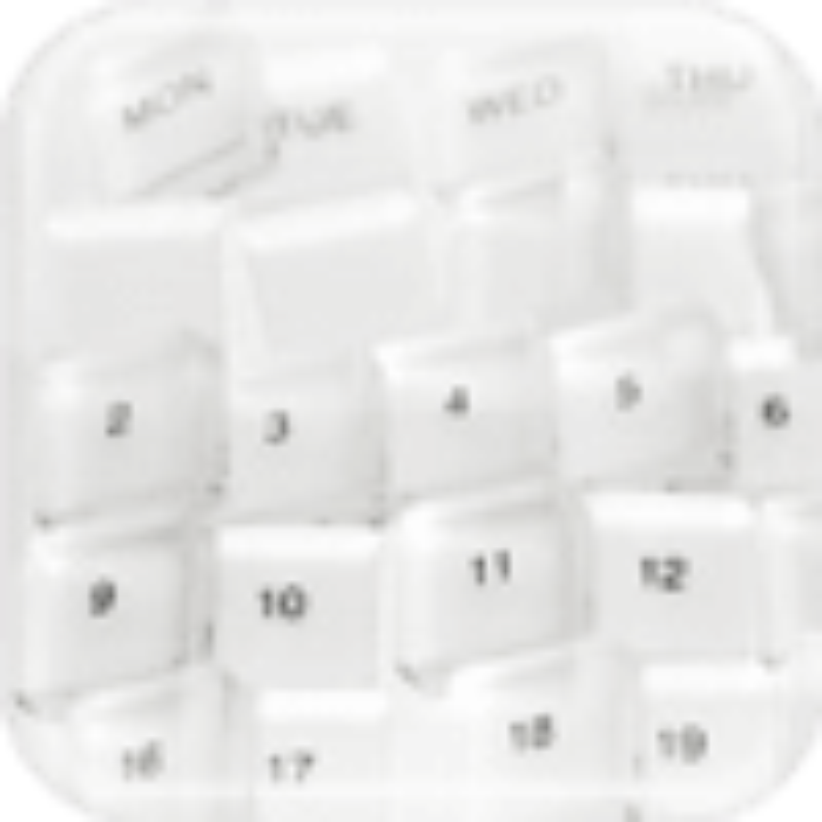 Calendar Visual Designer