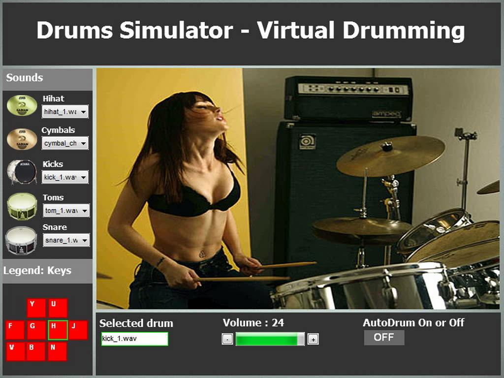 Drums Simulator