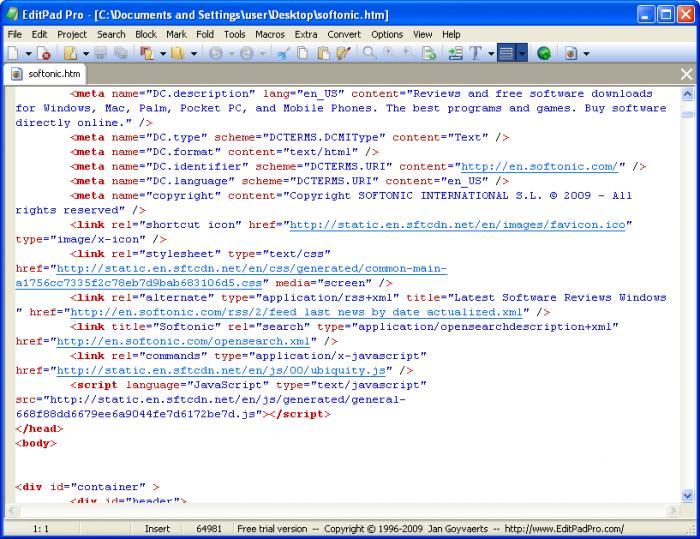 EditPad Pro