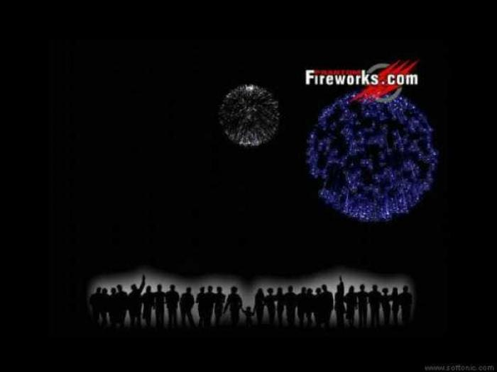 Phantom Fireworks Show Screensaver