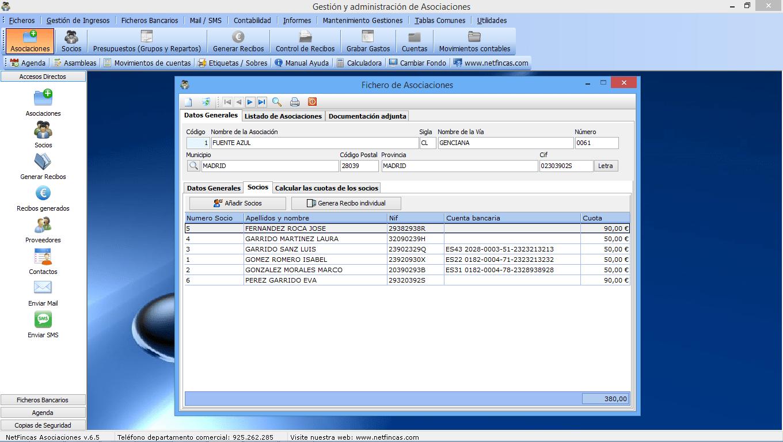 NetFincas Gestión y Administración de Asociaciones