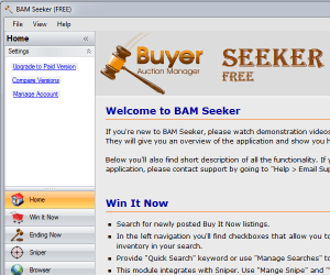 Buyer Auction Manager - Full