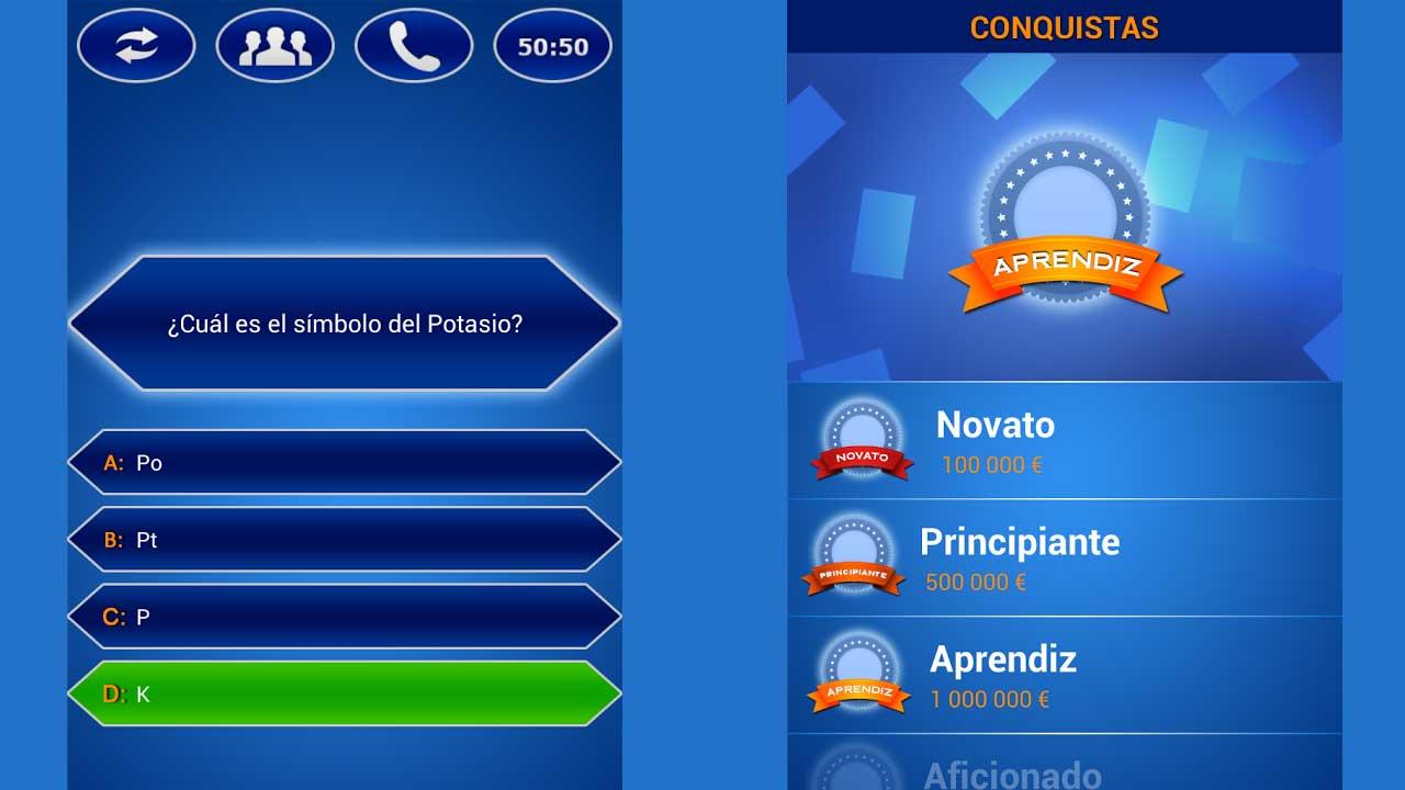 Quiz Millonario Español Gratis