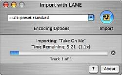 iTunes LAME Encoder