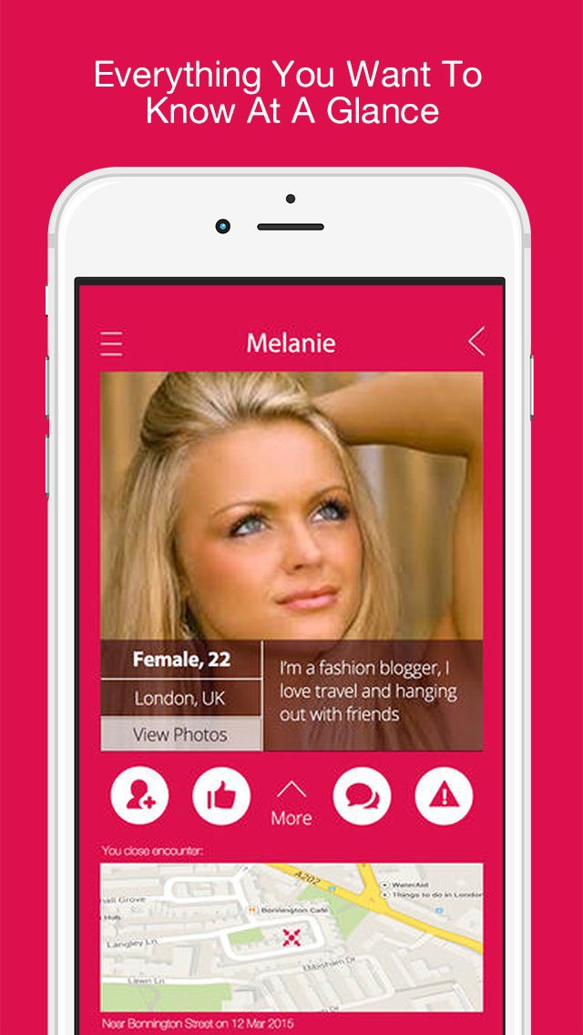 Did I See U  - Free Dating App