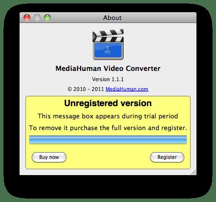 MediaHuman Video Converter